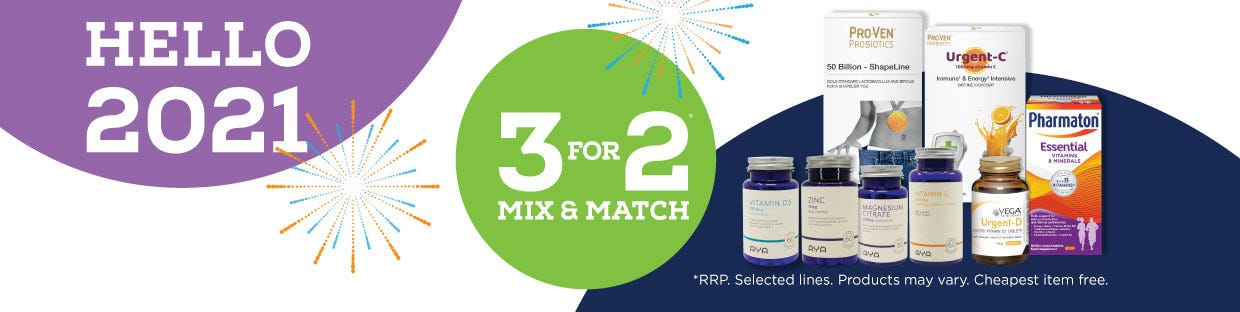 Multivitamins 3 for 2 Mix and Max