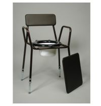 Adjustable Height Basic Commode