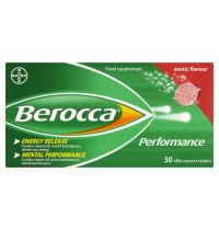 Berocca Effervescent Exotic Flavour Tablets 30s