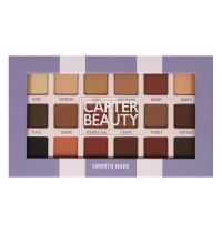 Carter Beauty Smooth Nude 18-Shade Eyeshadow Palett
