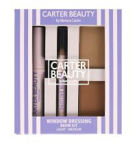 Carter Beauty Window Dressing Brow Kit Light To Medium