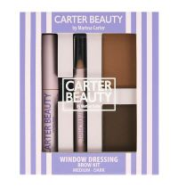 Carter Beauty Window Dressing Brow Kit Medium To Dark