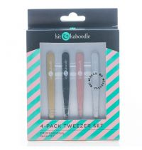 Kit & Kaboodle 4 Pack Tweezers