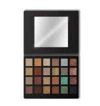 Kokie Cosmetics 24 Shade Eyeshadow Palette Black