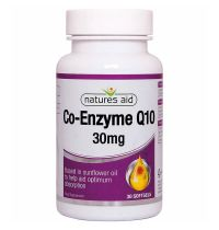 Natures Aid Co-Q-10 30Mg - Co-Enzyme Q10