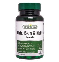 Natures Aid Hair Skin And Nails Formula