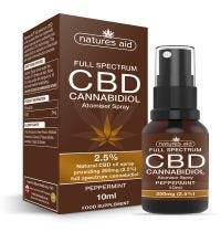 Natures Aid Natures Aid Cbd Oil 2.5% Spray X10Ml