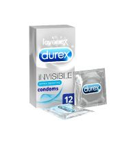 Durex Invisible Sensitive Condoms (12 Pack)