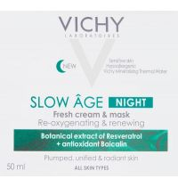Vichy Slow Ã'ge Night Cream and Mask 50ml