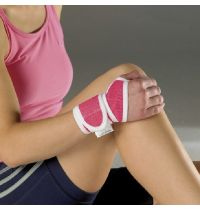 Vulkan Advanced Elastic Pink Wrist Support