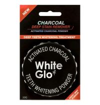 White Glo Charcoal Teeth Whitening Powder