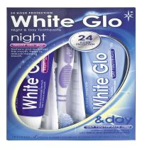 White Glo Night And Day Toothpaste Kit