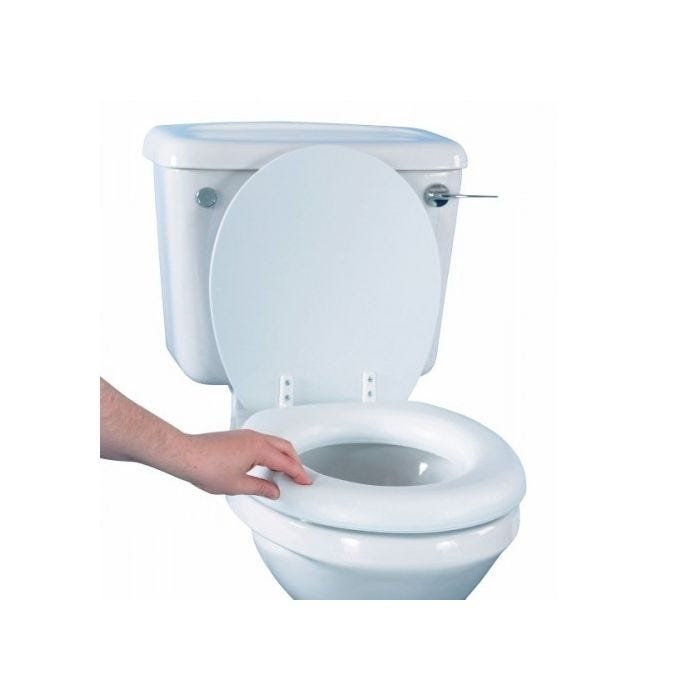 Fantastic Raised Toilet Seat Soft Squirreltailoven Fun Painted Chair Ideas Images Squirreltailovenorg