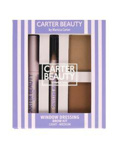 Carter Beauty Window Dressing Brow Kit Light To Medium