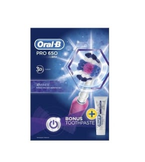 oral-b-pro-650-pink-power-tooth-brush